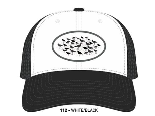 SANDPIPERS-White/Black