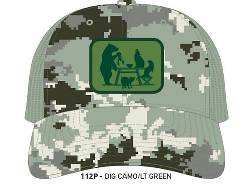 FARM TO TABLE-Digital Camo/Light Green
