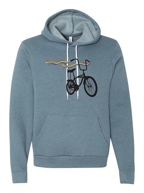 UNISEX PULLOVER HOODY-Bike Pride
