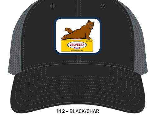 VELVEETA BEAR-Black/Charcoal