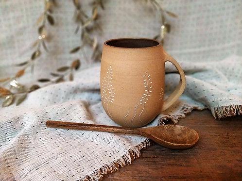 Grand mug ocre