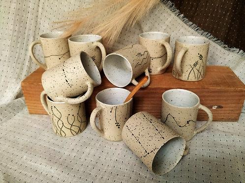 Café anse grés moucheté
