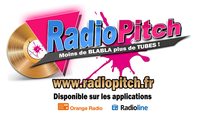logo radiopitch pour les applications or