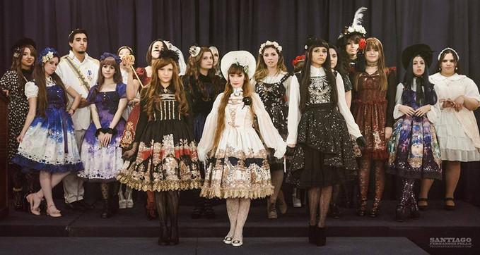 Kingdom of Crowns ~ High Tea Party 2015y Argentina Lolita tea party