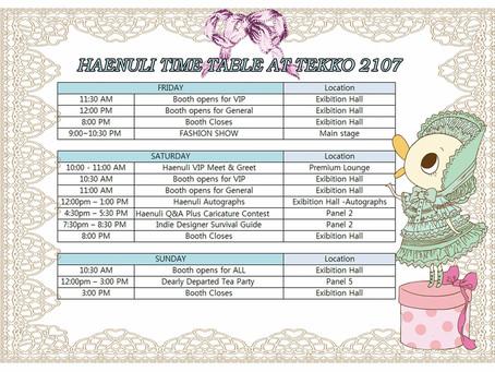 Haenuli is Guest of honor on TEKKO 2017