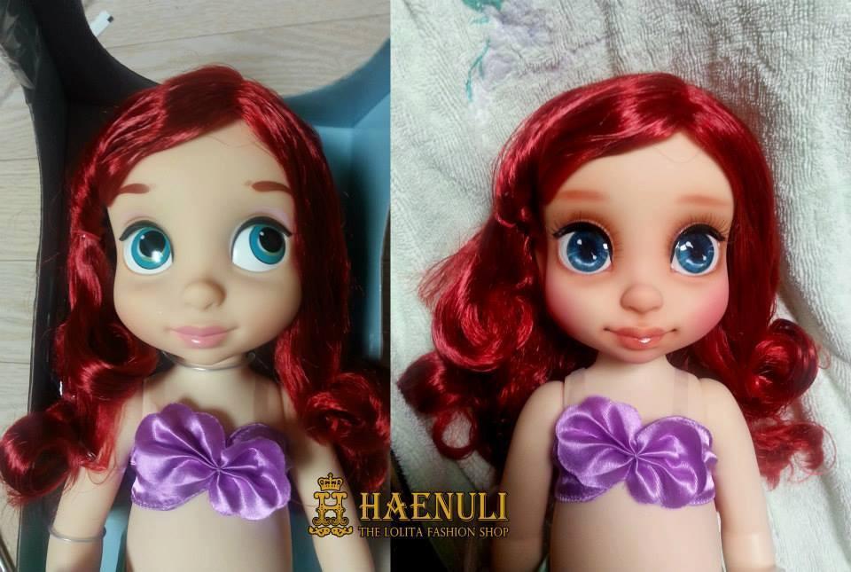 Diseny Animator collection -Baby doll Ariel