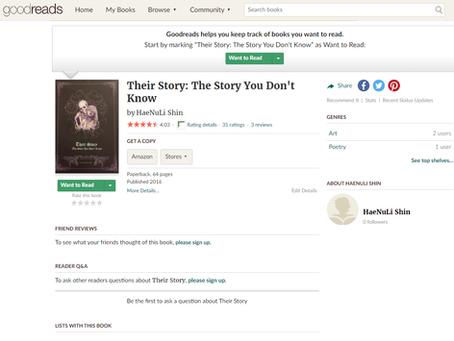 Book rating website have been updated Haenuli's book