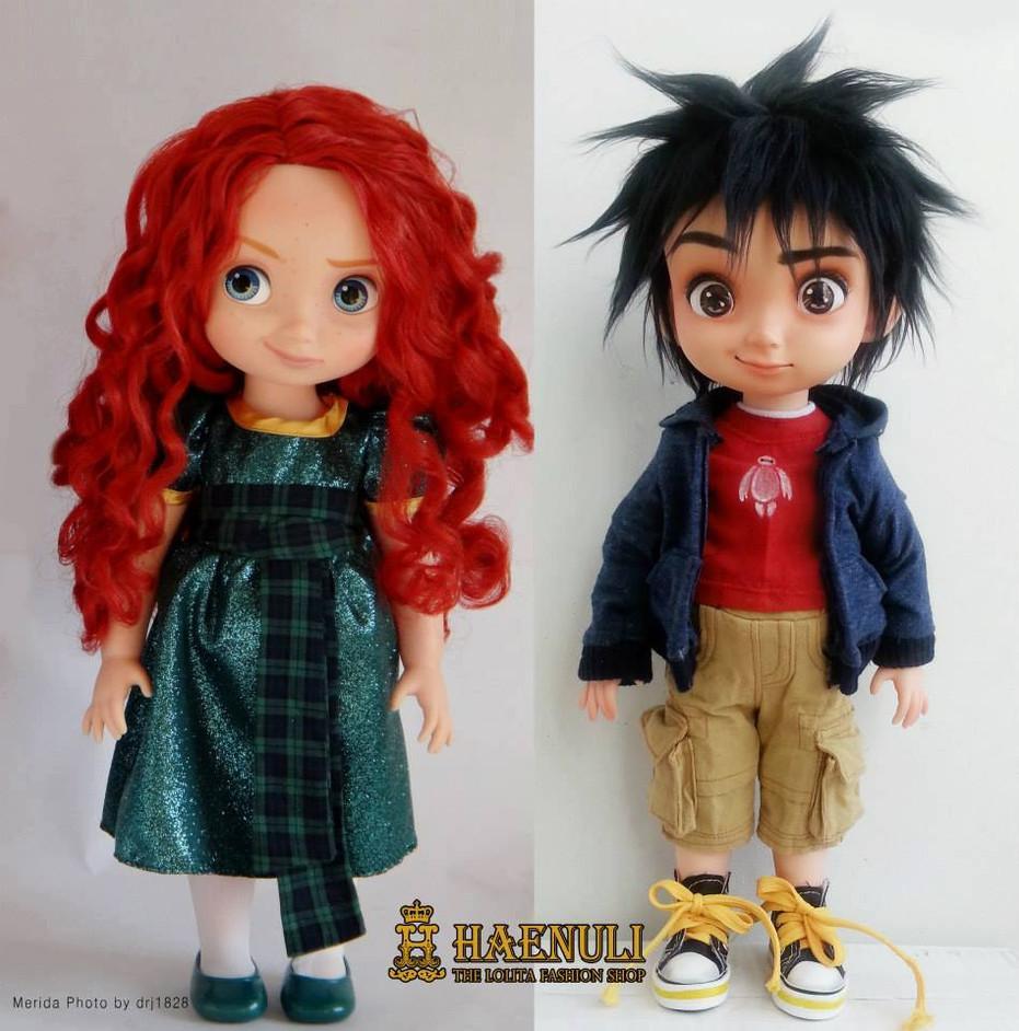 Merida custom to Hiro Hamada