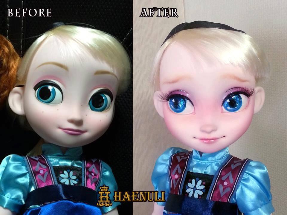 Diseny Animator collection -Baby doll Elsa