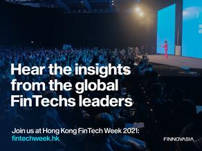 Hong Kong FinTech Week on 1-5 November 2021