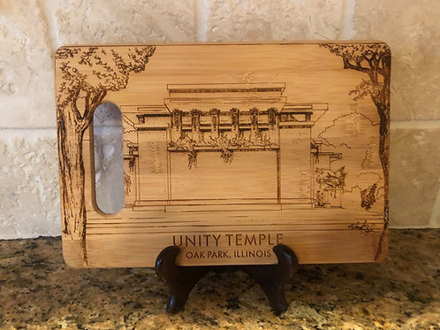 Unity Temple Cutting Board LIMITED EDITION Numbered