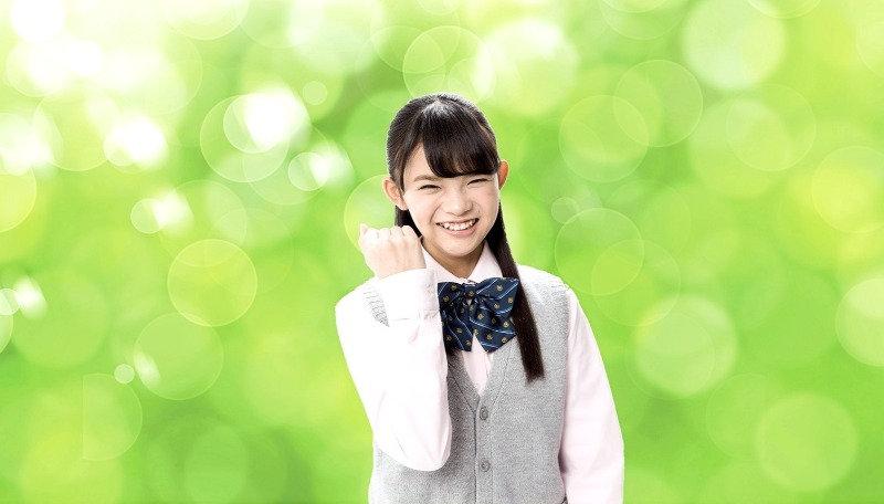 中学生_笑顔