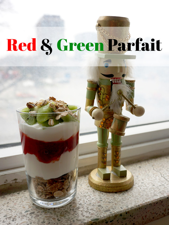 Red & Green Parfait