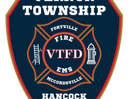 Seeking Vernon Township Fire Department Admin