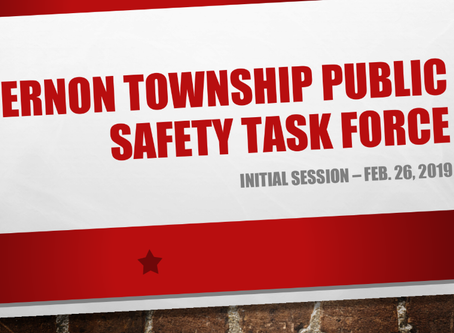 Vernon Township Public Safety Task Force