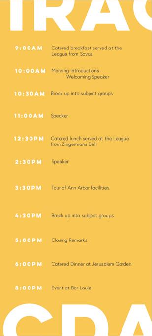 Schedule Back