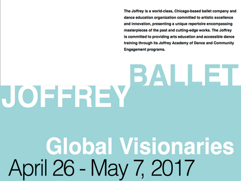 Joffrey Ballet Poster Design