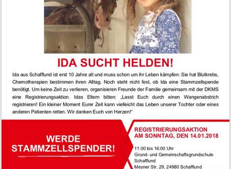 IDA sucht Helden!