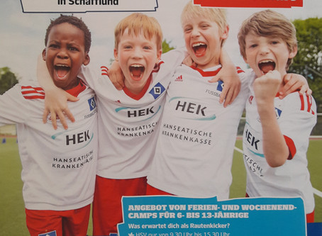 HSV-Fußballschule wieder in Schafflund zu Gast