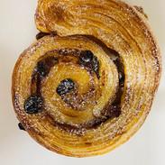 Pain aux raisins. A classic but deliciou