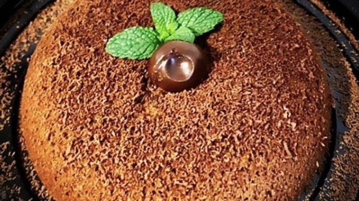 Vegan Lava Cake (Chef Gaby Castro)