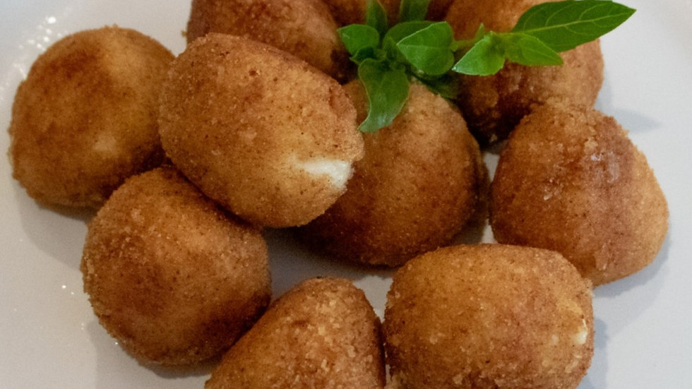 Croquetas de Jamón Serrano (10 pzs) (Chef Diana Rosales)