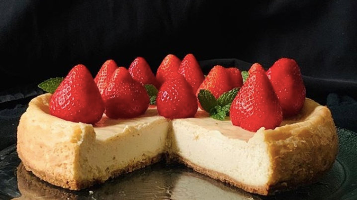 New York Cheesecake (Chef Gaby Castro)