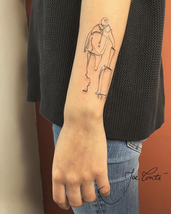 Joe Tonté - tatouage nomade - corps 17