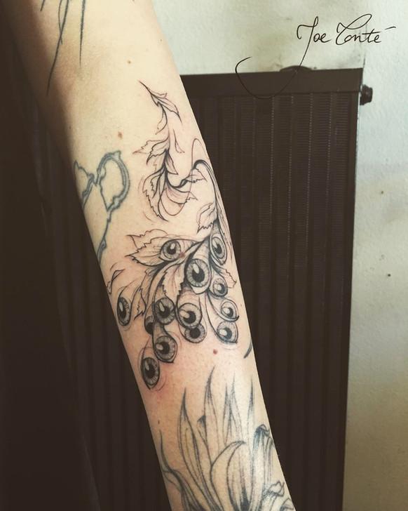 Joe Tonté - tatouage nomade - corps 5