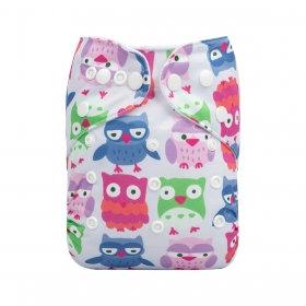 Alva: Pastel Owls BTP Pocket