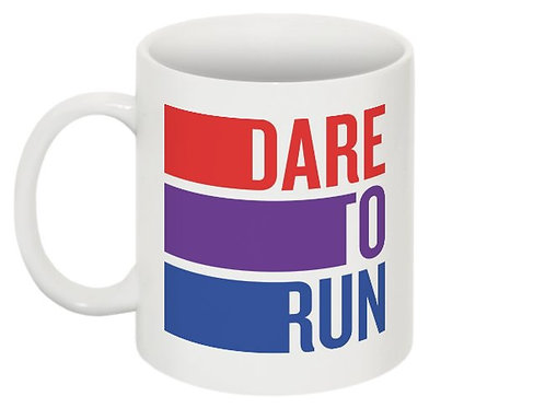 Dare to Run Mug