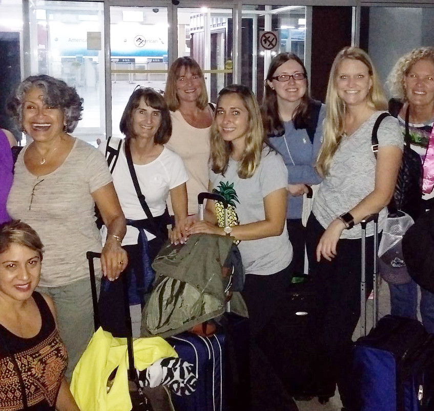 team at the airport 1