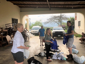 Trinity Team has Arrived in Honduras