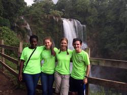 youth team waterfall