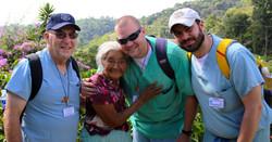abuela midwife with bill, daniel, shea