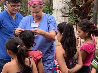 Team Harmony visits La Cuchilla
