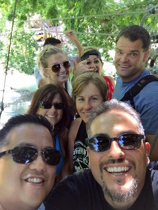 Los Robles selfie