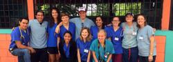 Reveille team at clinic