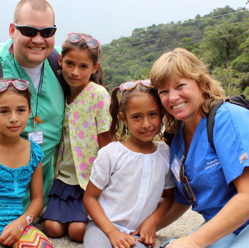 amy daniel with girls