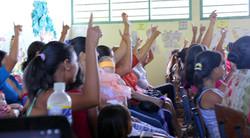 ecd hands raised