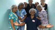 NICU Team Providing Education and Training in Honduras