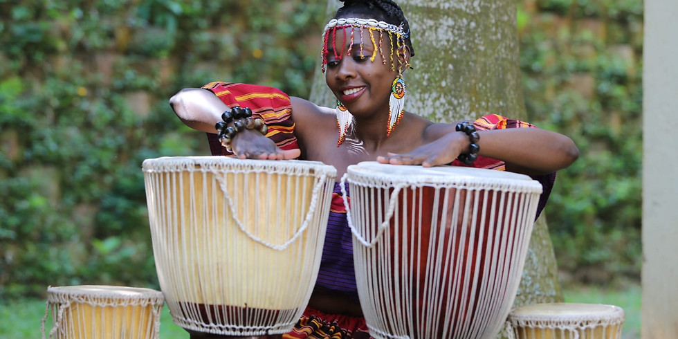 African Drums with Faith