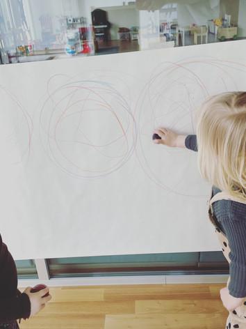 Classroom and art studio