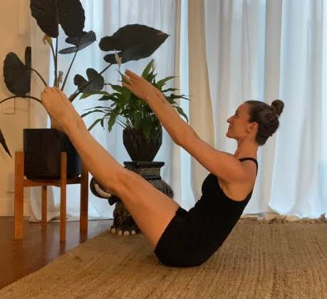 Intermediate Pilates Class
