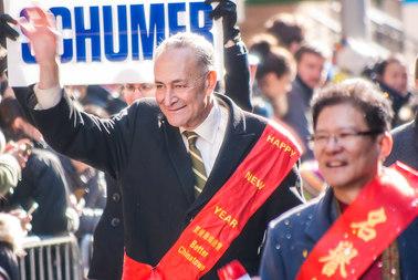 U.S. Senator Chuck Schumer of New York