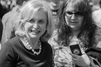 Congresswomen for the 12th District Carolyn Maloney