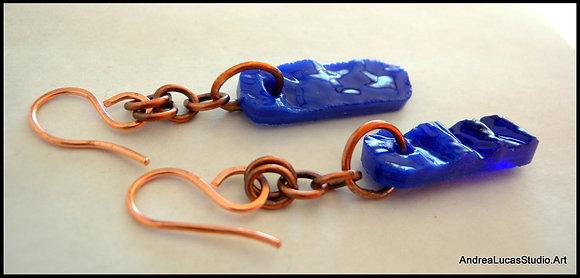 #2 Cobalt Earrings
