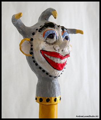 Josepe - Jester Head Bottle Topper