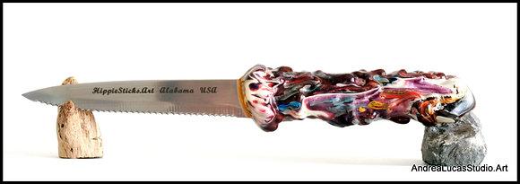 D-4 HippieStick Steak Knife