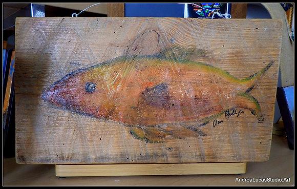 Fish on Wood